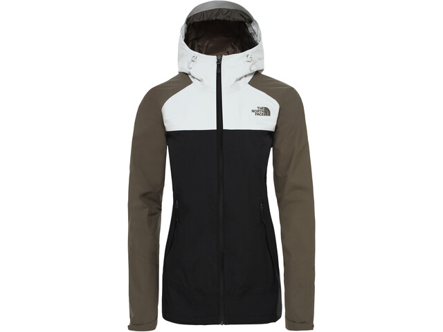 newest collection 44fa4 ce976 The North Face Stratos Jacke Damen tnf black/new taupe green/tin grey